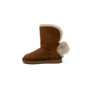 UGG Classic Short Charm Boot Chestnut
