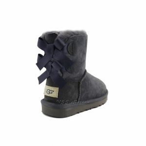 UGG Kids Bailey Bow II Grey