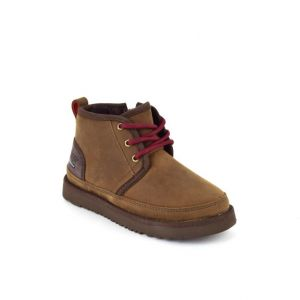 UGG Kids Neumel II WP Zip Boot Grizzly