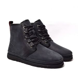 UGG MENS HARKLEY WATERPROOF BOOT BLACK