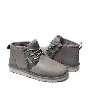 UGG Men's Neumel Zip Boot Leather Grey
