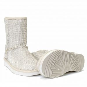 UGG & Jimmy Choo Short Serein II Silver
