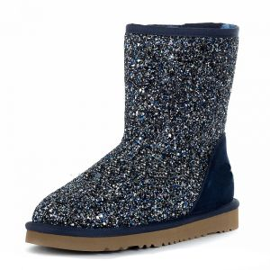 UGG Classic Short Stardust Navy