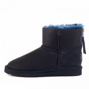 UGG Zip Mini Metallic Navy