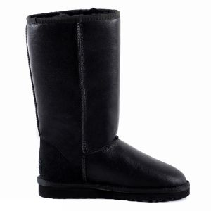UGG Classic Tall Metallic Black