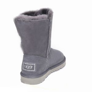 UGG Bailey Button II Bling Short Grey