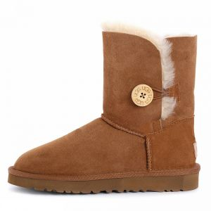 UGG Bailey Button II Short Chestnut
