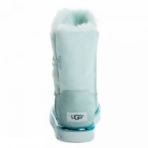 UGG Bailey Button II Short Metallic Iceberg
