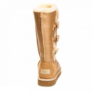 UGG Bailey Button Triplet Soft Gold