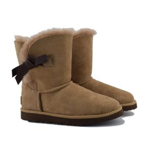 UGG Bailey Button Knot Stormy Grey