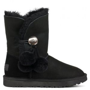 UGG Bailey Button Puff Black