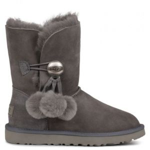 UGG Bailey Button Puff Grey