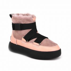 UGG Boom Buckle Boot Pink Crystal