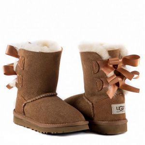 UGG Kids Bailey Bow II Chestnut