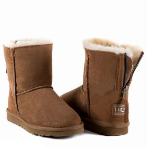 UGG Zip Mini II Chestnut
