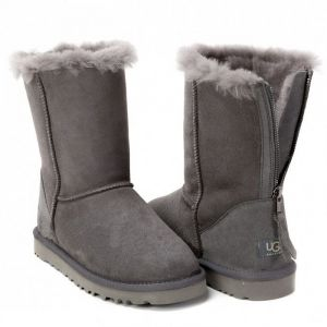 UGG Zip Short II Grey